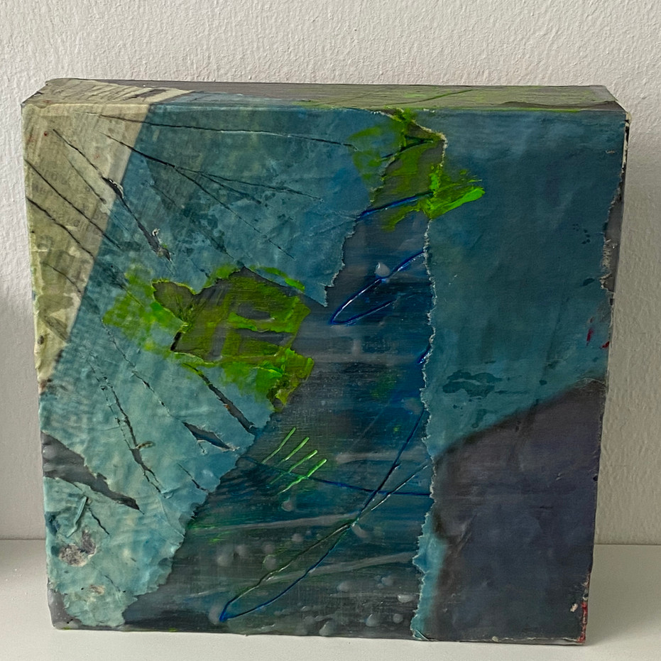 WV 27 | BLUE MONTAIN | 20 x 20 cm