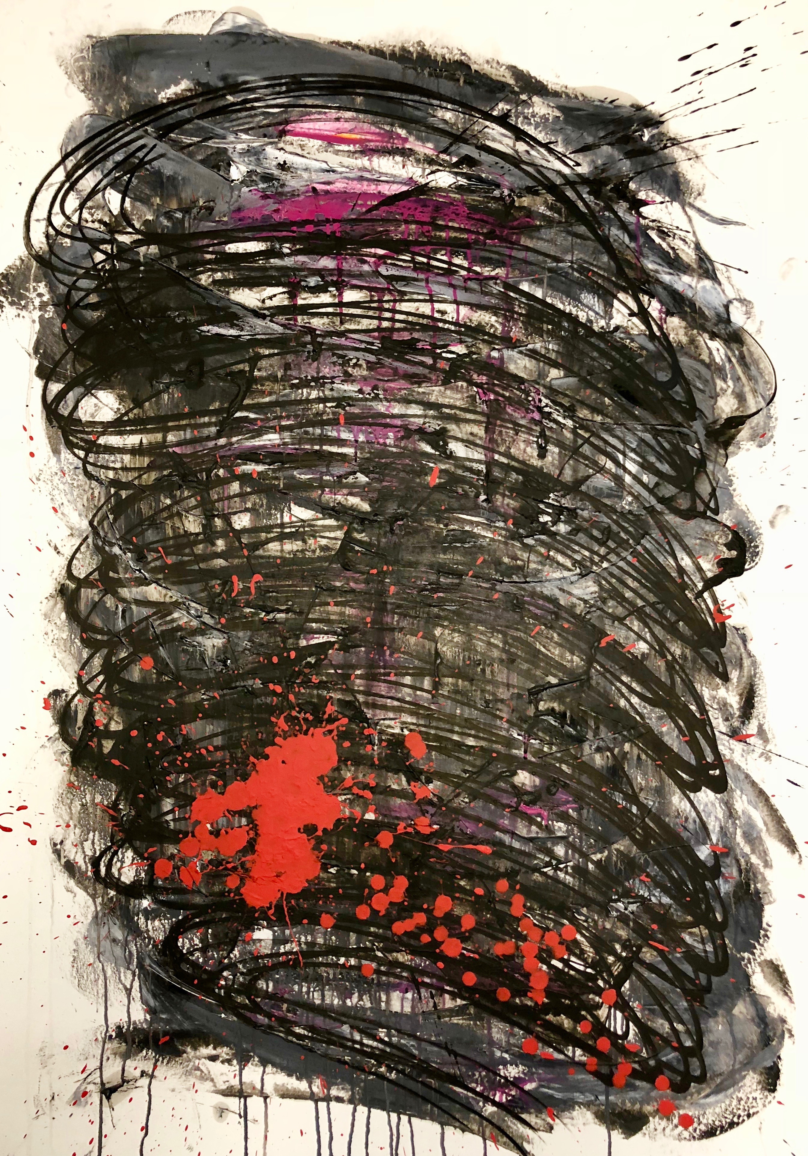 """Nr. 170 """"Red Pointed Whirl"""""""