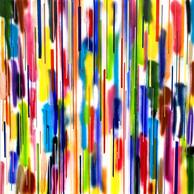 HOCHZEIT DES LICHTS | 100 x 100 cm | 2021