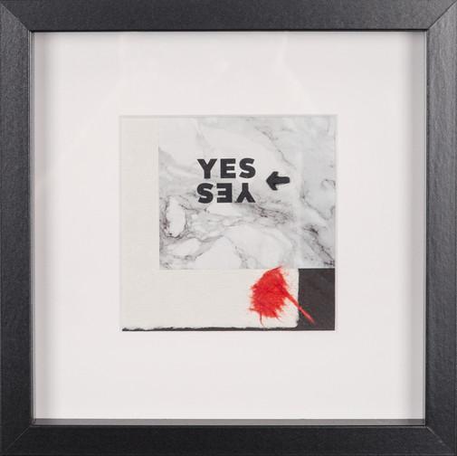 WV 63 | YES OR NO - NO NO | 20 x 20 cm
