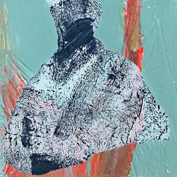 Abstrakt 29 x 29 cm