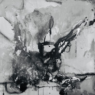 """""""BLACK MAGIC""""   WV Nr. 339   Acryl auf Leinwand   100 x 100 cm   2021"""