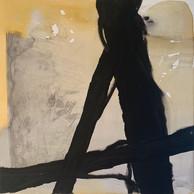 "PAINT IT BLACK"" | WV Nr. 248 | Acryl auf Leinwand | 80 x 100 cm | 2019 | SOLD"