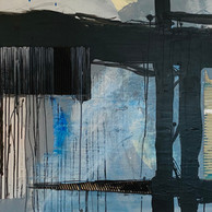 """BLUE VALVET"" | WV Nr. 261 | Acryl auf Leinwand | 125 x 85 cm | 2019"