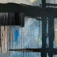 """BLUE VALVET""   WV Nr. 261   Acryl auf Leinwand   125 x 85 cm   2019"