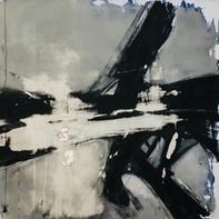 """IT IS ALL OVER NOW""   WV Nr. 242   Acryl auf Leinwand   80 x 80 cm   2019"