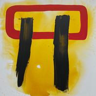 """""""I'M A WALRUS""""   WV Nr. 279   Acryl auf Leinwand   100 x 100 cm    2020"""