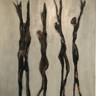 """GIMME SHELTER"" | WV Nr. 251 | Acryl auf Leinwand | 100 x 120 cm | 219 | SOLD"