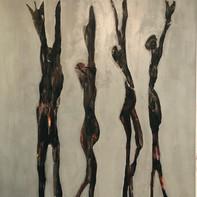 """GIMME SHELTER""   WV Nr. 251   Acryl auf Leinwand   100 x 120 cm   219   SOLD"