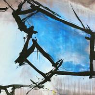 """""""BLUE VALENTINE""""   WV Nr. 270   Acryl auf Leinwand   125 x 85 cm   2019"""