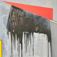 """""""STIER""""   WV Nr. 342   Mischtechnik auf Leinwand   100 x 100 cm   2021"""