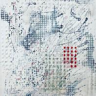"""""""RED & WHITE""""   WV Nr. 289   Mischtechnik auf Leinwand   80 x 120 cm   2020"""