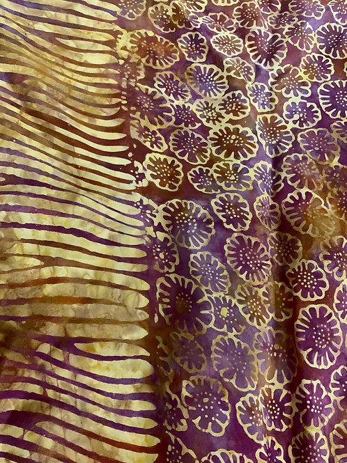 Sarong (Pareo) de Batik Pintado a Mano en Tailandia