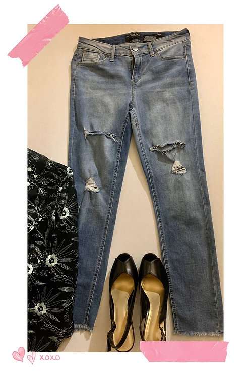 Jeans Kenneth Cole Distressed