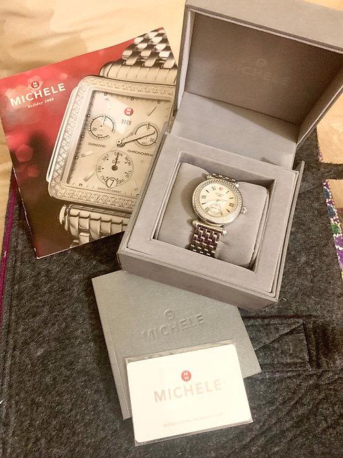 Reloj Michele 140 Diamantes