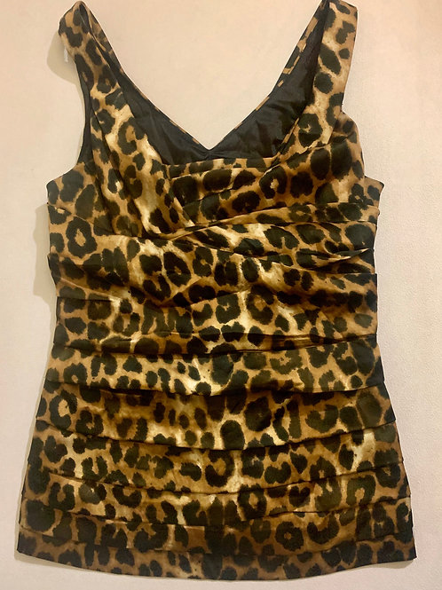 Blusa EXPRESS Animal Print Satin