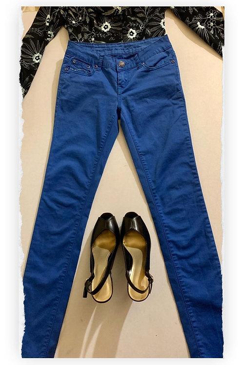 Skinny Jeans Azul Eléctrico Suavecitos