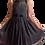 Thumbnail: Vestido Betsey Johnson Gasa con Fondo