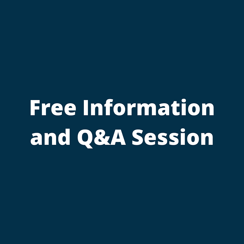 Free Information and Q&A Session