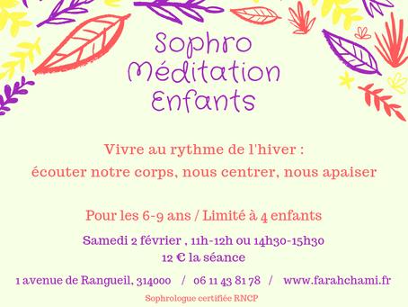 Atelier Sophro-Méditation Enfants