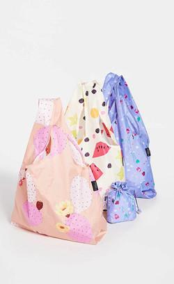 baggu packable bags, 3 set