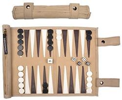 backgammon roll up set