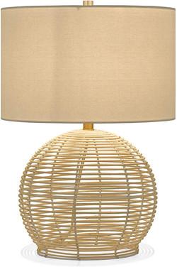 boho table lamp, bohemian lamp