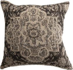 chenille grey pillow