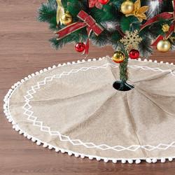 burlap tassel tree skirt
