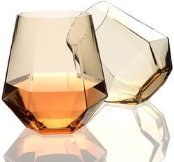 amber rocks glass