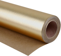gold wrapping paper