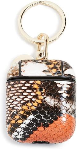 snake print airpod case
