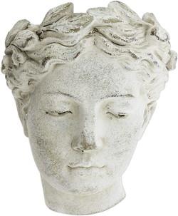 greek statue planter