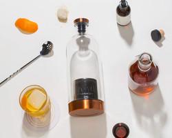 liquor infusing bottle