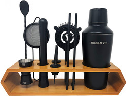 black matte bar set