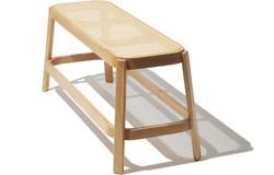 boho bench, bohemian bench