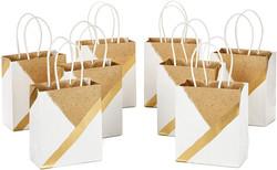 neutral design gift bags