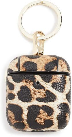 cheetah print airpod case