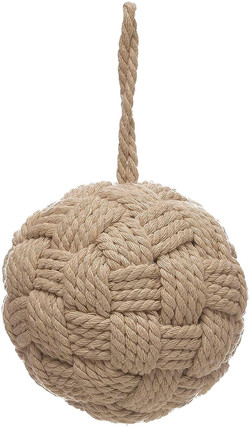 rope ball ornament