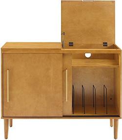boho storage table, bohemian storage
