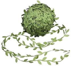 leaf trim ribbon