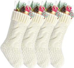 knit xmas stocking