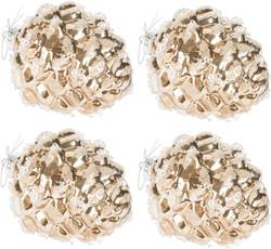 gold pine cone ornaments