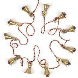 brass bell garland