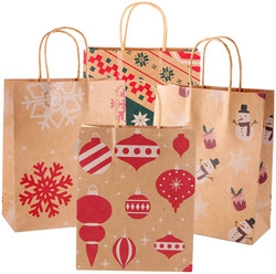 assorted holiday gift bags