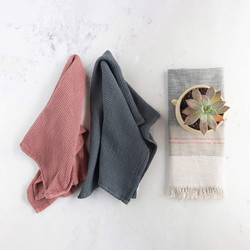 multi color towels