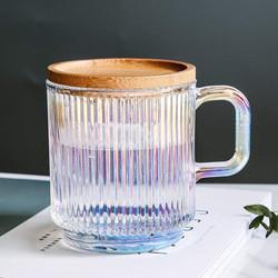 iridescent glass w handle
