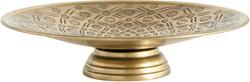 gold antique pedestal