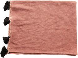 rose and black towel