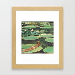 lily-pond-lane-framed-prints